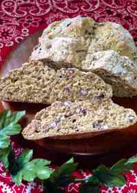 Whole Wheat Flour & Adzuki Sakekasu Soda Bread