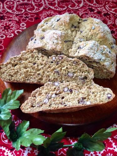 Whole Wheat Flour & Adzuki Sakekasu Soda Bread