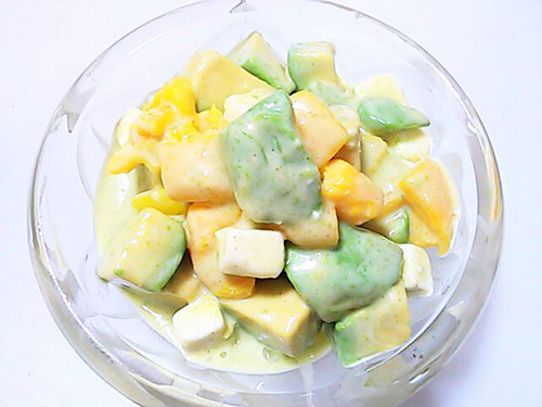 Bell Pepper and Avocado with Honey and Lemon