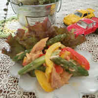 Red and Yellow Bell Pepper Stir Fry