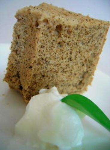 Black Tea Chiffon Cake
