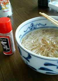 Nyuumen (Somen noodle soup)