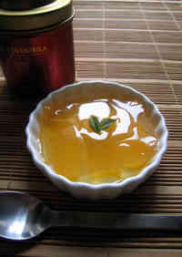 Jasmine Tea & Yellow Peach Agar Jelly