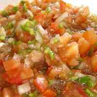 Spanish-Style Tomato Salad from Cadiz Piriñaca!
