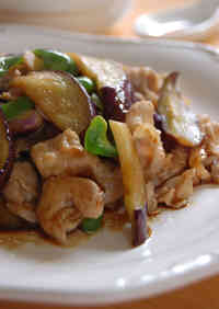 Eggplant and Pork Stir-fry at a Ramen Shop
