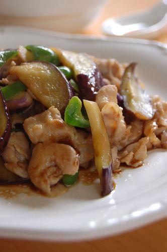 Eggplant and Pork Stir-fry at a Ramen Shop