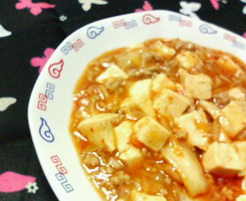 Spicy Kimchi Mapo Tofu