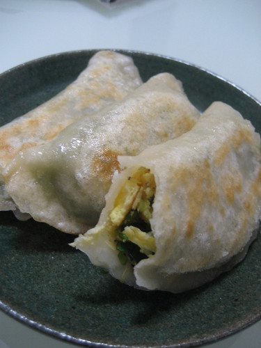 Chinese Chive and Egg Gyoza (A Chinese Home Recipe)