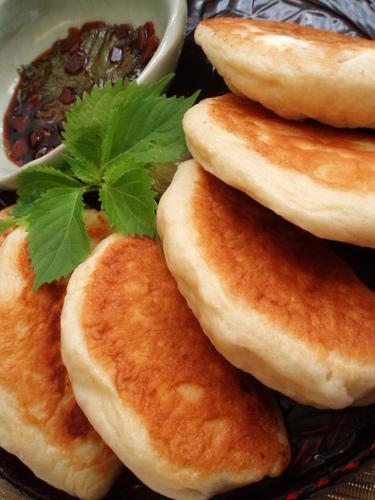Gyoza Bread Using Shiso Soy Sauce
