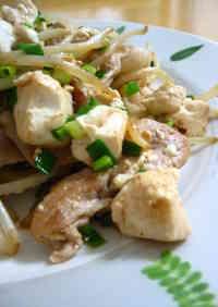 Quick Champuruu-style Pork Stir-fry