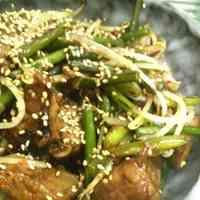 Liver and Garlic Shoot Stir-Fry