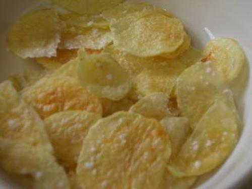 Oil-Free Non-Fried Potato Chips