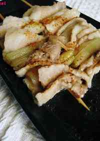 Thickly Simmered Pork and Leek