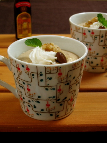 Light and Creamy Coffee Mousse