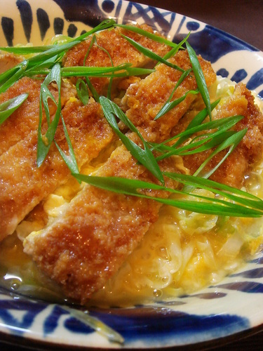 Simmered Pork Cutlet
