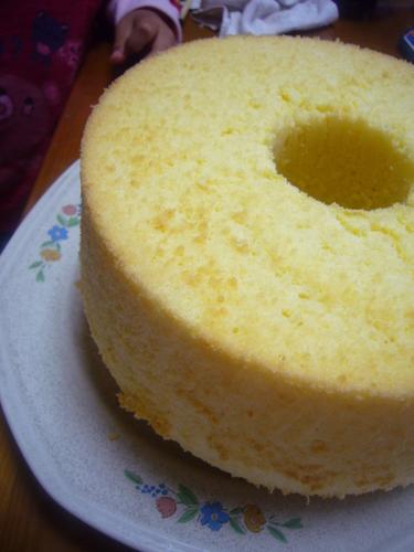 Oil-free Tofu Chiffon Cake