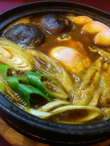 Stewed Curry Udon Noodles
