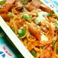 For Bentos: Easy and Flavorful Spaghetti Napolitan