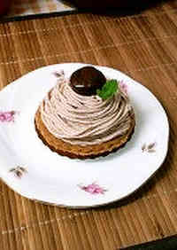 Mont Blanc - Made with Chestnuts Cooked In Their Skins