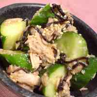 *Easy Delicious and Addictive! Tuna & Cucumber*