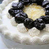 Black Tea Scented Decoration Cake