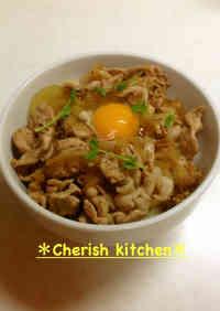Easy Pork Rice Bowl