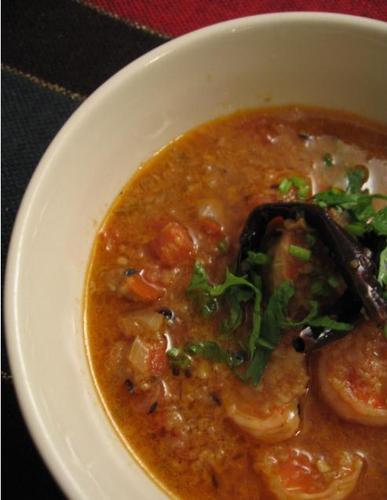 Indian Prawn Curry: Bombay-style