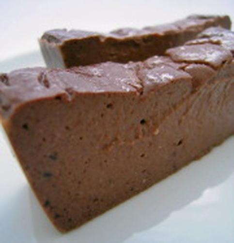 Tofu, Agar, Jam & Chocolate Dessert for Dieters