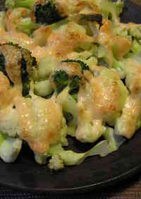 Baked Cauliflower with Mentaiko and Mayonnaise