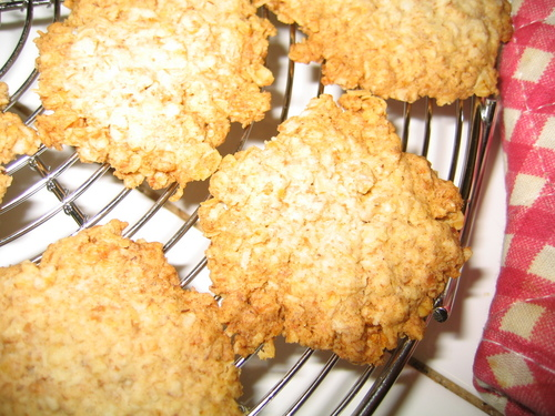 Dangerously Good Oatmeal Maple Cookies