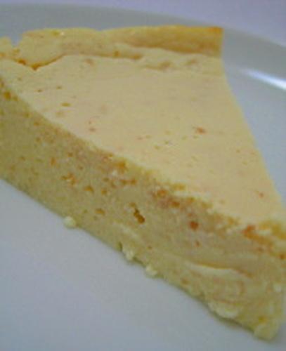 Baked Yogurt Kanten Cake
