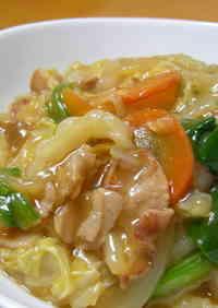 Chinese Cabbage Ankake