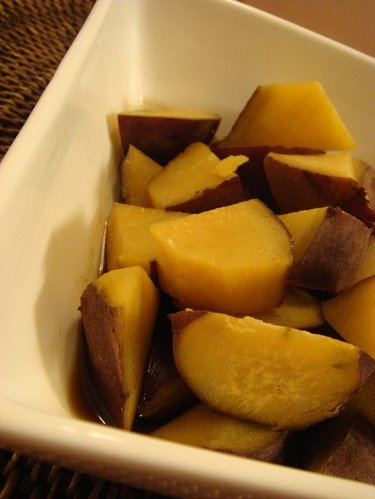 Stewed Sweet Potatoes--All You Gotta Do is Stew