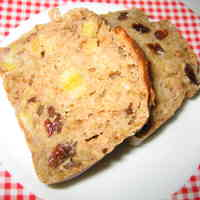 Oil-, Egg- and Sugar-Free Easy Banana Bread