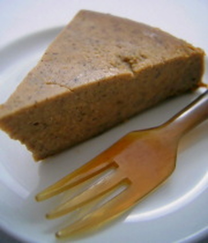 Diet Friendly Agar Cake with Tofu, Brown Sugar & Kinako