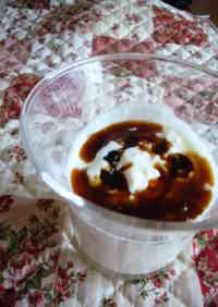 Diet Kuromitsu Tofu Yogurt