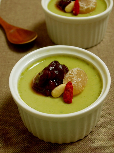 Easy Matcha Pudding