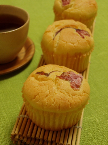 Glutinous Rice Flour Muffins