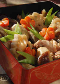 For Osechi, Too! Chikuzen-ni With Lots of Root Vegetables