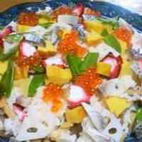 Chirashizushi with Leftovers from Osechi