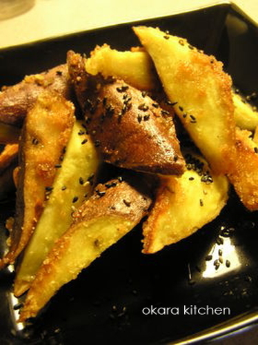 Magical Daigaku-imo (Deep-Fried & Caramelized Sweet Potatoes)