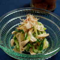 Chicken Tender and Cucumber Salad with Umeboshi Mayonnaise