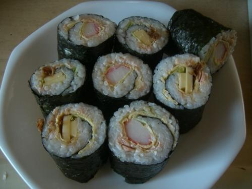 Roll 'Em Up! Nori Seaweed Rolls