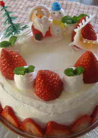 Have a Merry Christmas with a Chiffon Cake