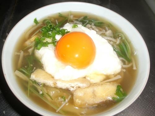 Tsukimi Tororo Soba - Grated Yam and Raw Egg Soba Noodles