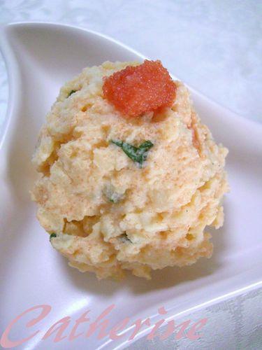 Potato Salad With Tarako
