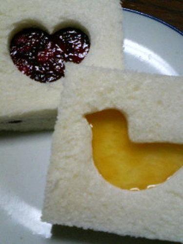 Easy☆Cute Die-Cut Sandwiches♪