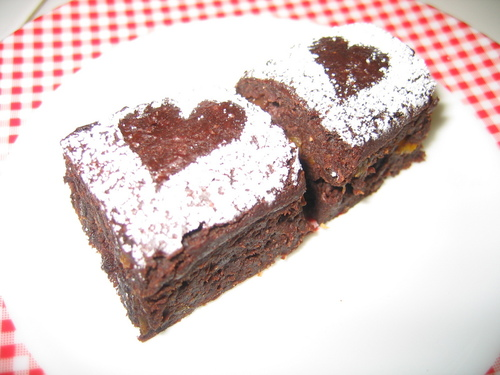Oil-free and Egg-free Tofu Brownies