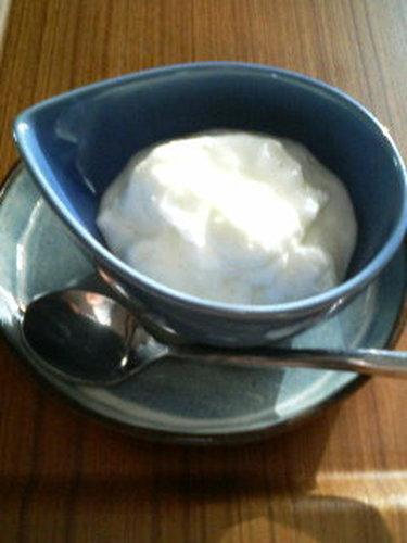 3 Minute Marshmallow and Yogurt Mousse