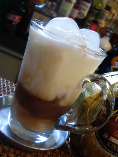 Chocolate Calpico Milk ◇ Cocktail